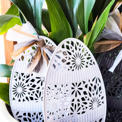 Dollar Store Yard Decor for Easter