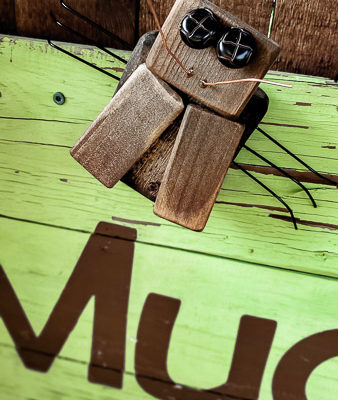 Scrap Wood Junk Bugs