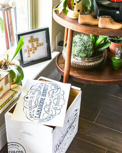 Learn how to do do a raised stencil technique for craft projects and furniture makeovers. This essential stencil technique will take your stencil ideas to a whole other level! Transform your crafts and furniture with a professional look with this easy tutorial. #stencil #stencilproject #stencilideas