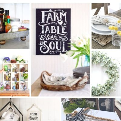 Quick & Easy DIY Farmhouse Decor