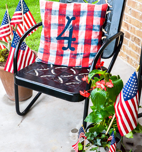 DIY 4th of July Pillow
