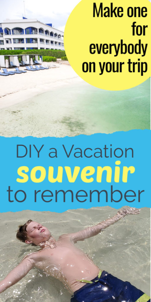 make one of these keepsake necklaces for everybody on your trip! Finally a DIY vacation souvenir you can make to use and remeber your fun family vacations together! This simple and budget friendly vacation memory is perfect for a large group, adults or kids! #souvenir #DIYkeepsake #memorymaker