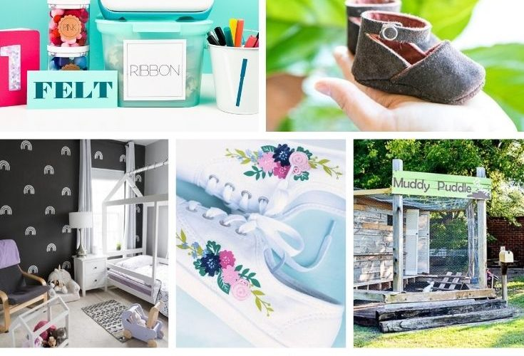 Check out a list of cool projects to make with your Cricut. Great project ideas for Cricut beginners to learn how to use a Cricut machine. #cricutideas #cricuttutorials #crciutprojects