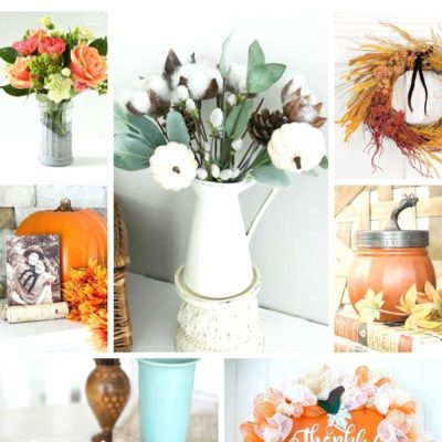 Fall Dollar Store Projects
