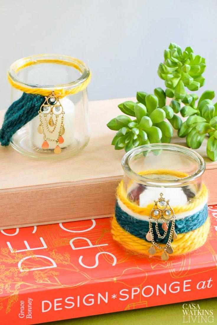 Oui Yogurt Bottle Craft Ideas Salvaged Living