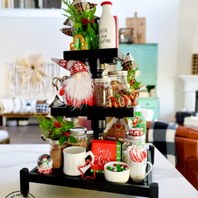 How To Make A DIY Tiered Tray