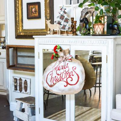 Dollar Store Christmas Craft