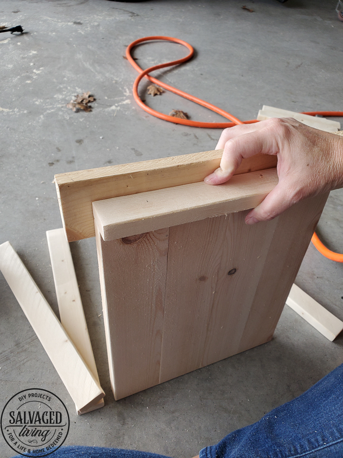 How to build a 3 tiered tray out of wood for your DIY home decorating needs. This is a step by step guide to making your own tiered tray for a budget friendly alternative. #tieredtraystyle #DIYdecor #woodproject #upcycledwoodproject