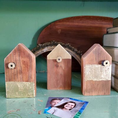 Scrap Wood Picture Holder House