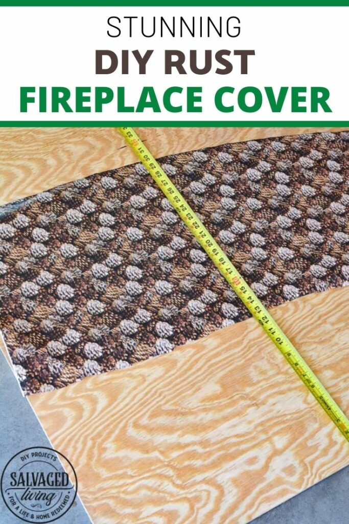 supplies for rust fireplace cover