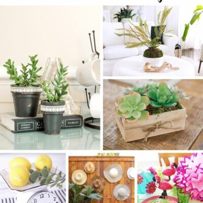 Dollar Store Summer Decor Projects