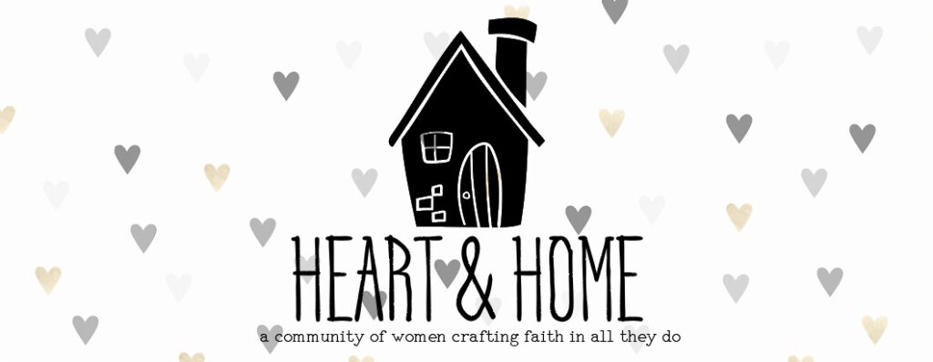 join the Heart & Home Creative Community of women crafting faith in all they do! Join Kim fro the blog Salvaged Living as we grow in our knowdlege and walk with God and DIY! #heartandhome