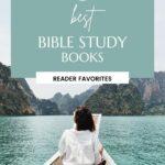 best bible study books pin image