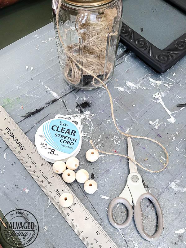 wood bead napkin rings supplies