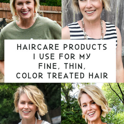 The Hair Care Products I Use For My Fine, Thin, Color Treated Hair