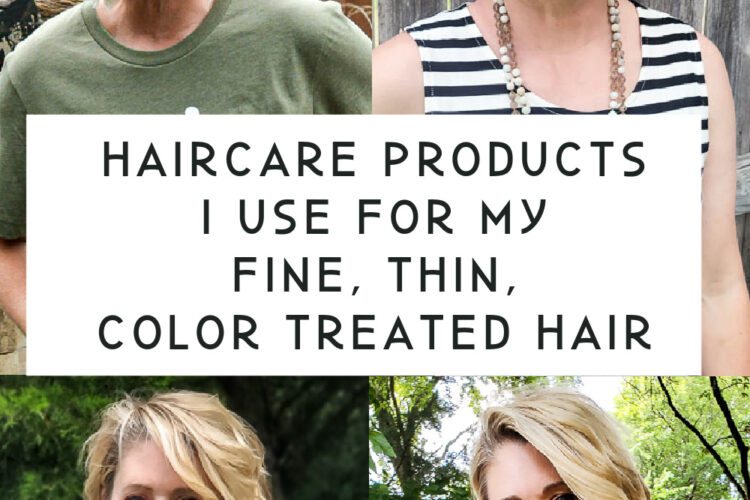 The best hair care products for fine hair. If you have thin, fine, color treated hair like I do then you need to try these amazing hair products to get your hair in shape, these products work on short fine hair for full-body, great texture and perfect short hair styling! #shorthair #shorthaircare #finehair #thinhair #blondehaircare