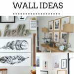 15 DIY Gallery Wall Ideas That Won't Break The Bank pin collage with text overlay