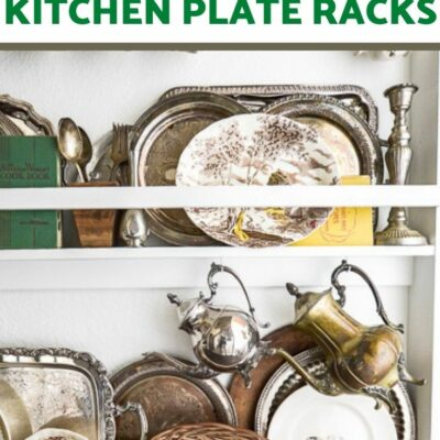 Plate Racks in the Kitchen – Reader Featured Ideas!